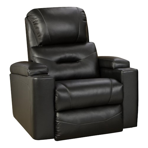 Design to Recline Infinity Wall Hugger Recliner with Cup Holders and Storage