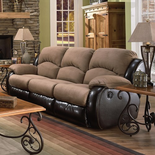 Southern Motion Jolson Double Reclining Sofa
