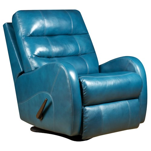 Southern Motion Krypto  Lay-Flat Rocker Recliner with Modern Style
