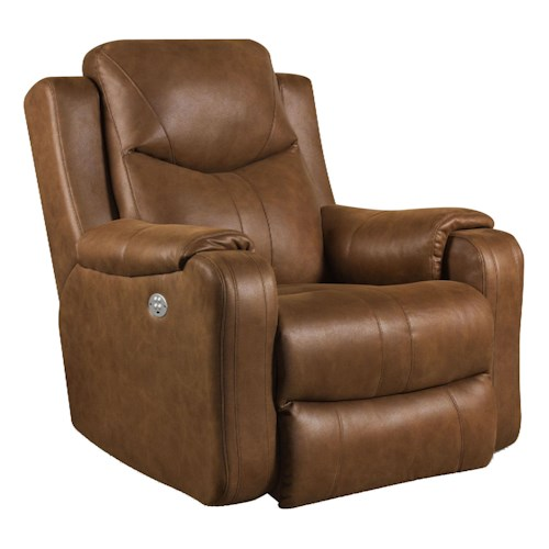 Southern Motion Marvel Rocker Recliner with Power Headrest