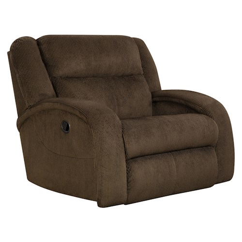 Belfort Motion Maverick  Recliner Chair and a Half with Contemporary Style