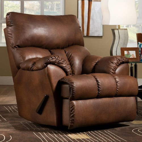 Southern Motion Re-Fueler  Power Wall Hugger Recliner with Casual Furniture Style