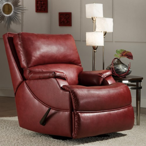 Belfort Motion Carson Contemporary Wall Hugger Recliner with Comfort and Design