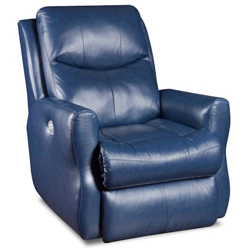 Southern Motion Recliners Fame Layflat Recliner with Power Headrest and Memory Foam Plus