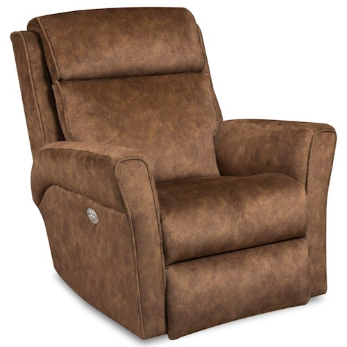 Southern Motion Recliners Radiate Rocker Recliner with Power Headrest