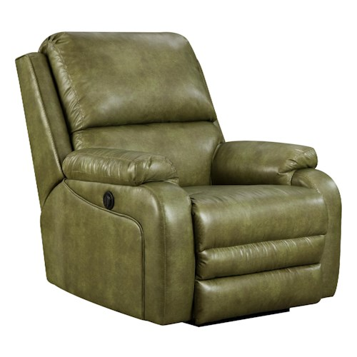 Belfort Motion Recliners Ovation Swivel Rocker Recliner in Casual Furniture Style