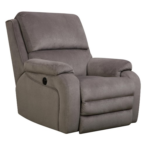 Southern Motion Recliners Ovation Swivel Rocker Recliner in Casual Furniture Style