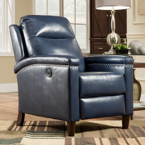 Belfort Motion Recliners Sparkle High Leg Power Recliner
