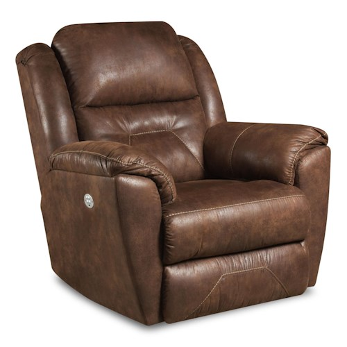 Southern Motion Recliners Pandora Wall Hugger Recliner with Power Headrest