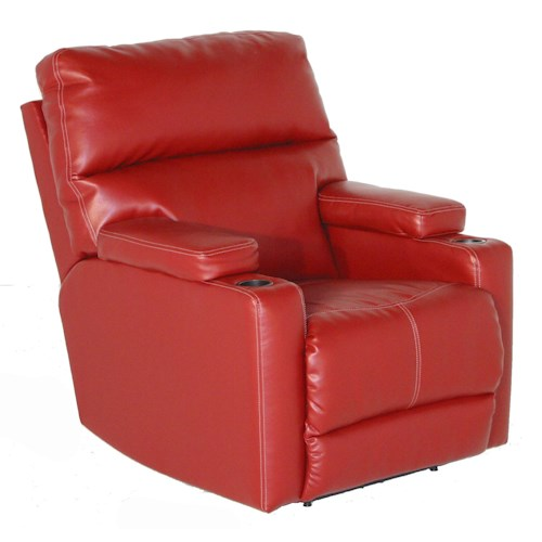 Southern Motion Recliners Tango Recliner with Contemporary Living Room Style