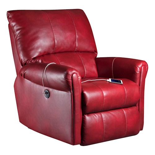 Southern Motion Recliners Marconi Power Lay-Flat Recliner