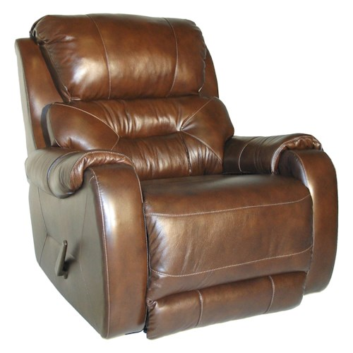 Southern Motion Sting Layflat Recliner with Contemporary Style