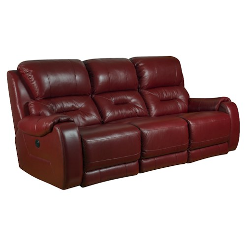 Southern Motion Sting Double Reclining Sofa with Contemporary Style