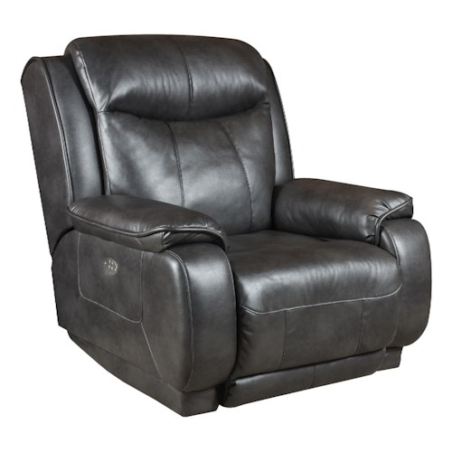 Southern Motion Velocity Rocker Recliner with <b>Power</b> Headrest