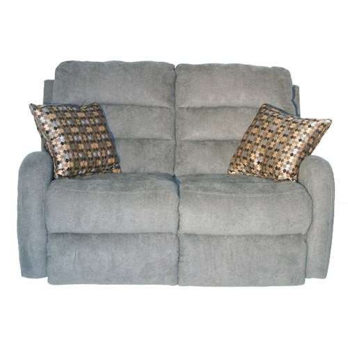 Southern Motion Wonder Double Reclining Loveseat with 2 Pillows