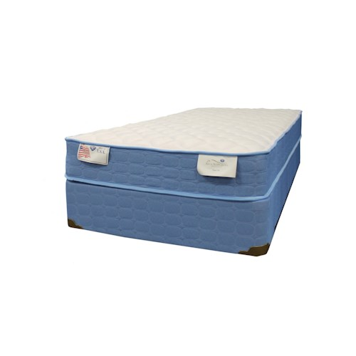 Spring Air Spring O Pedic - Firm Queen Firm Mattress and Foundation