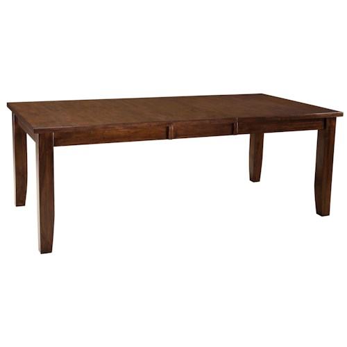 Standard Furniture Abaco Rectangular Dining Table with 18