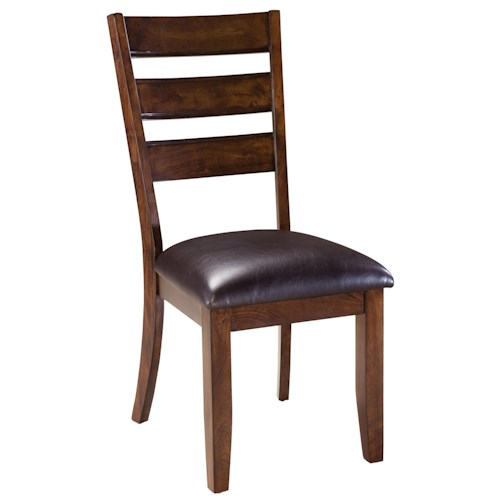 Standard Furniture Abaco Dining Side Chair with Upholstered Seat