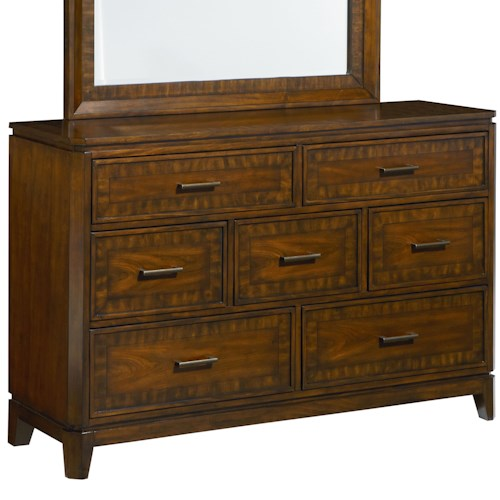 Standard Furniture Avion  Dresser with 7 Drawers