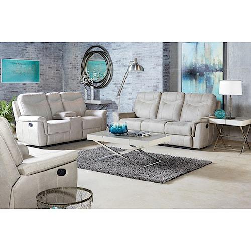 Standard Furniture Boardwalk Reclining Living Room Group