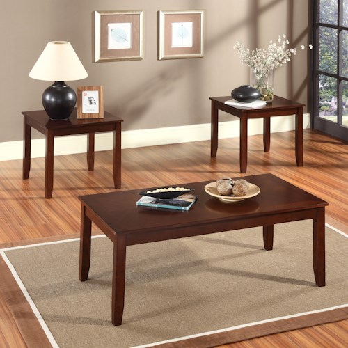 Standard Furniture Brantley 3-Pack Occasional Tables