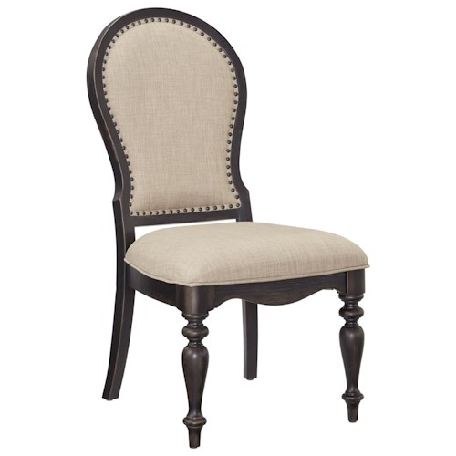 Standard Furniture Cambria Two-Tone Upholstered Side Chair