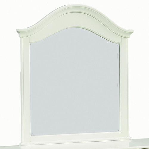 Standard Furniture Camellia Mint Camelback Cottage Mirror