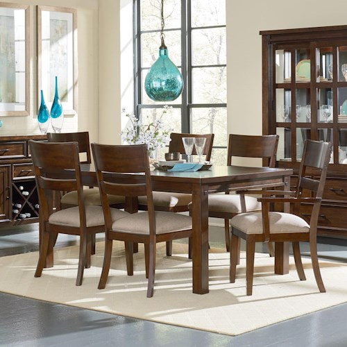 Standard Furniture Cameron Rustic Table and Chair Set