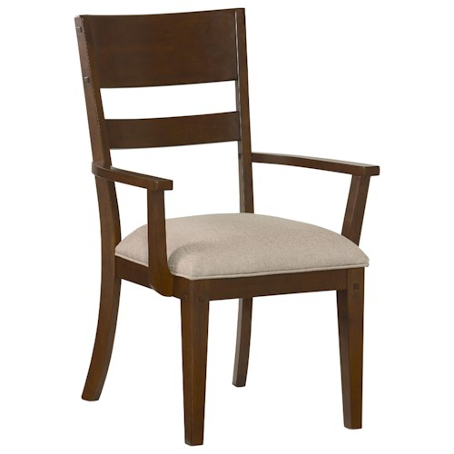 Standard Furniture Cameron Upholstered Dining Arm Chair