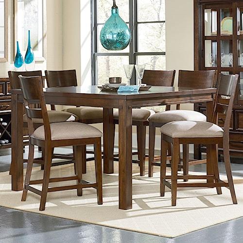 Standard Furniture Cameron Rustic Pub Table Set