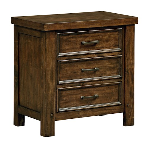 Standard Furniture Cameron Rustic Nightstand