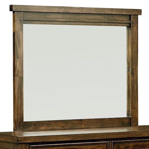 Standard Furniture Cameron Rustic Mirror