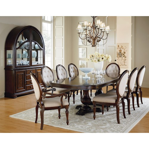 Standard Furniture Carrington Dining Formal Dining Room Group