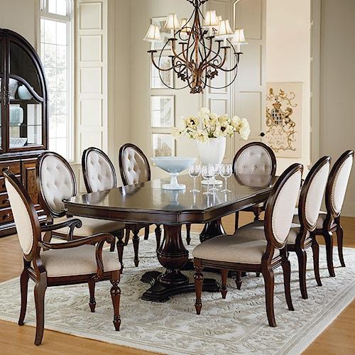 Standard Furniture Carrington Dining Dining Room Set