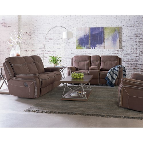 Standard Furniture Champion Reclining Living Room Group