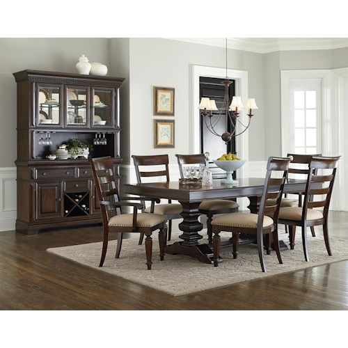 Standard Furniture Charleston Formal Dining Room Group