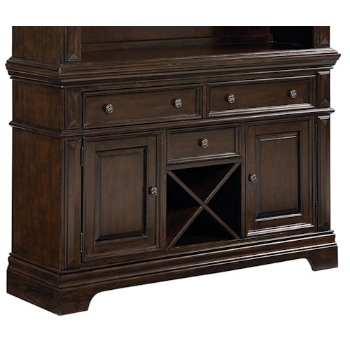 Standard Furniture Charleston Buffet with Wine Storage