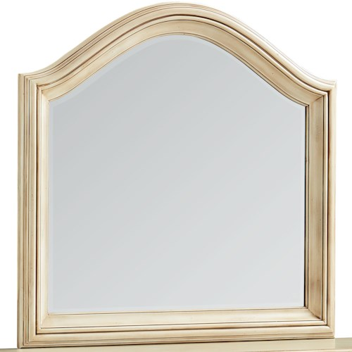 Standard Furniture Chateau Mirror with Arched Top