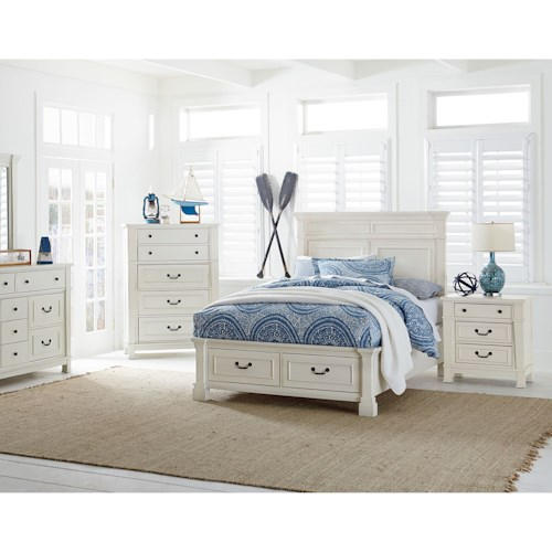 Standard Furniture Chesapeake Bay Twin Storage Bedroom Group