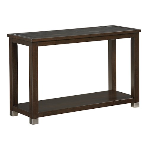 Standard Furniture Colton Contemporary Sofa Table