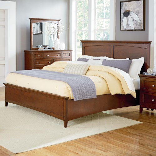 Standard Furniture Cooperstown Casual Queen Panel Bed