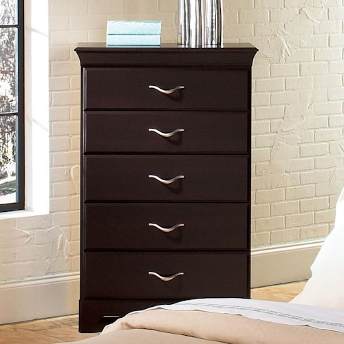 Standard Furniture Crossroads  Five Drawer Chest