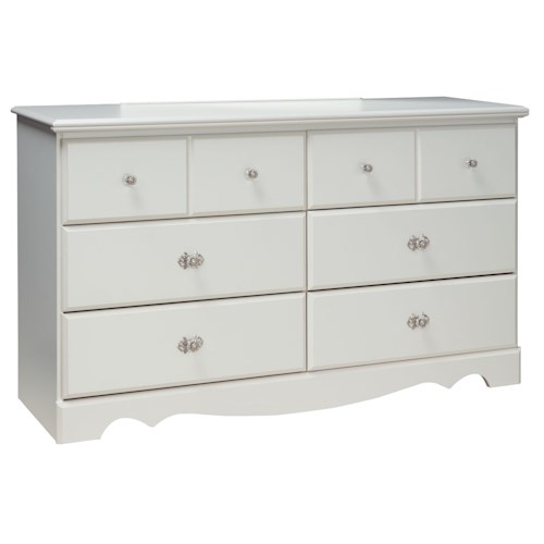 Standard Furniture Daphne 6 Drawer Dresser
