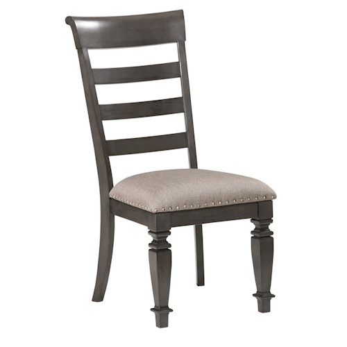 Standard Furniture Garrison Dining Room Traditional Upholstered Side Chair