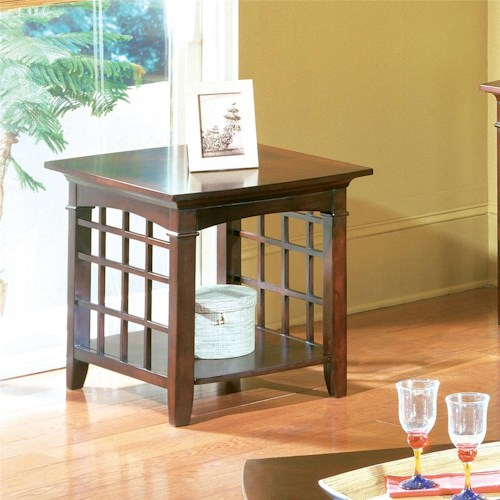 Standard Furniture Glasgow  End Table