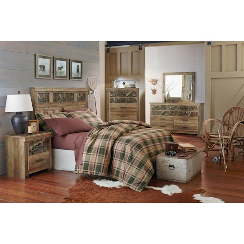 Standard Furniture Habitat Full/Queen Bedroom Group
