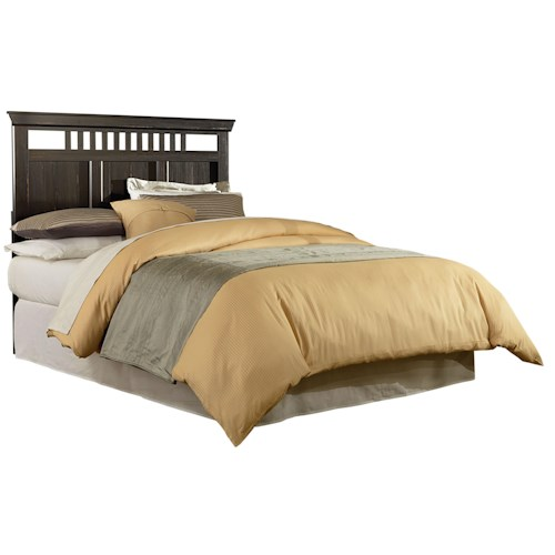Standard Furniture Hampton Rustic Queen/Full Headboard with Open Slats