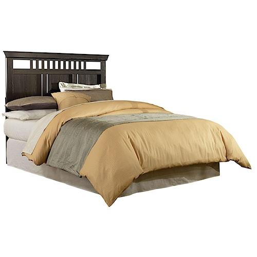 Standard Furniture Hampton Rustic Twin Headboard with Open Slats