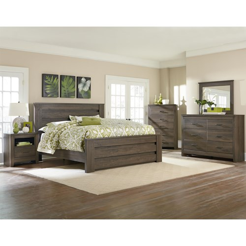 Standard Furniture Hayward King Bedroom Group