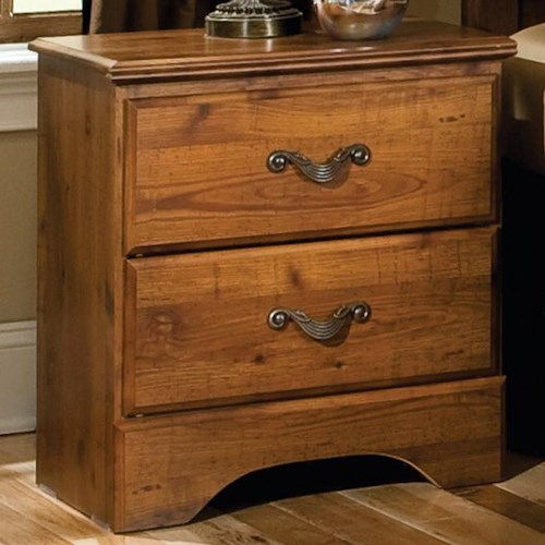 Standard Furniture Hester Heights 2 Drawer Night Stand